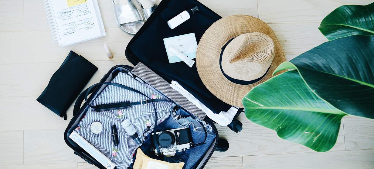 Packa resväskan för ditt år utomlands